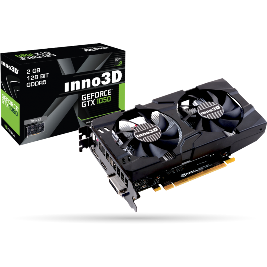 Placa video GeForce GTX 1050 Twin X2 2GB