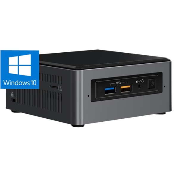 BOXNUC7i5BNHXF i5-7260U 4GB DDR4 1TB HDD Optane 16GB Windows 10 BOX