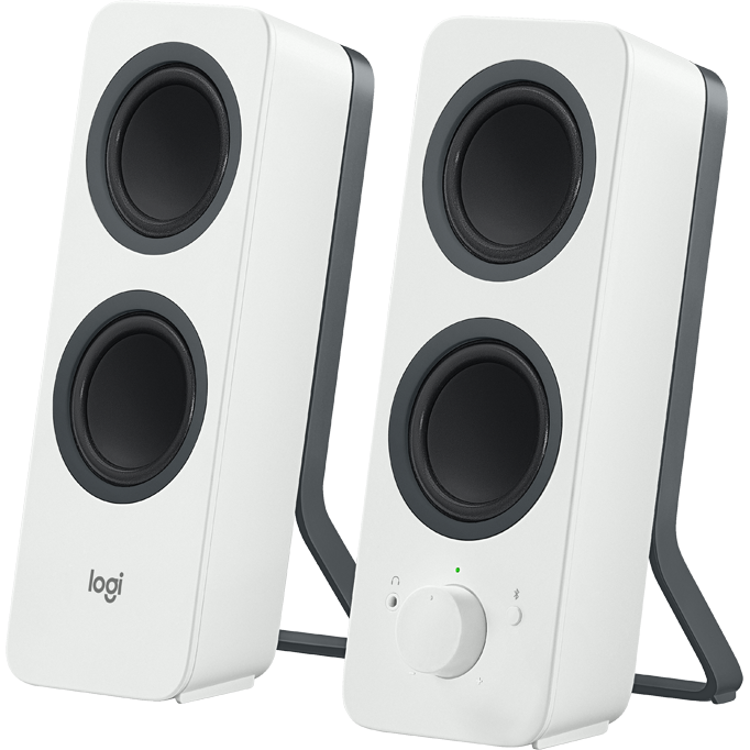 Z207 Bluetooth Computer Speakers White