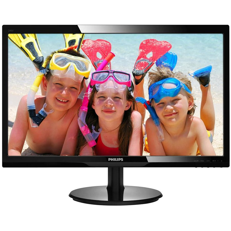 Monitor LED 246V5LDSB/00 24 FullHD Black