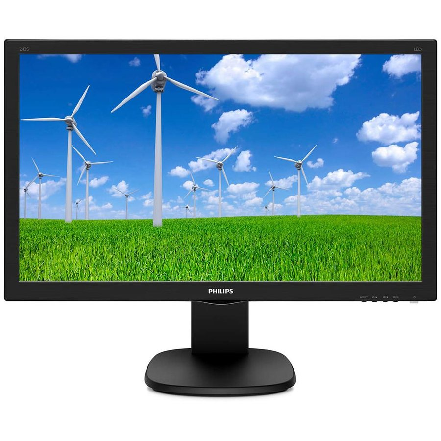 Monitor LED 243S5LJMB 24 FullHD TN 1ms Black