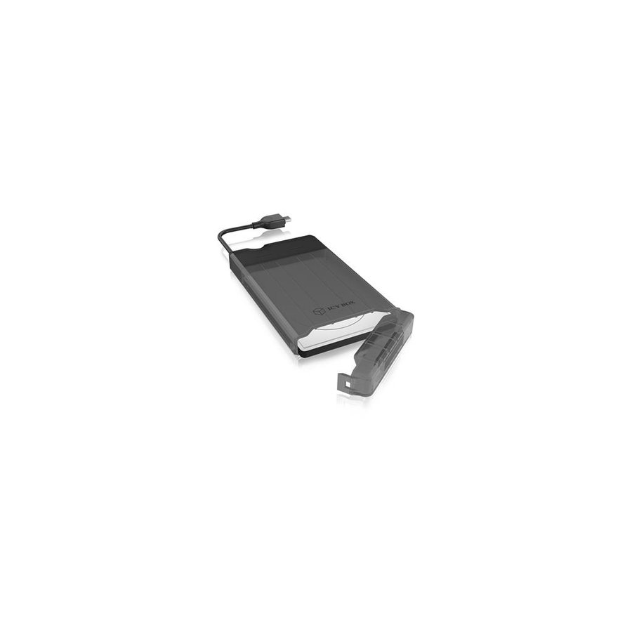 HDD Rack IcyBox External enclosure for 2.5 SATA HDD/SSD, USB 3.1 Type-C, Black