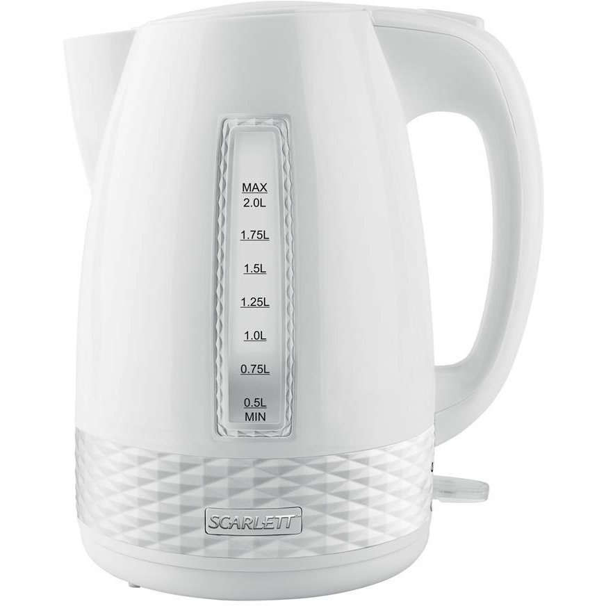 Fierbator Electric kettle Scarlett SC-EK18P35 | 2L white