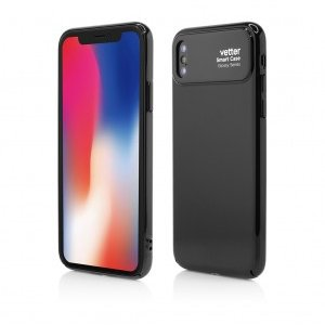 iPhone X | Smart Case Glossy Series | iPhone X | Black