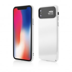 iPhone X | Smart Case Glossy Series | iPhone X | White