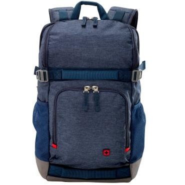 Wenger StreetFlyer 16 inch Laptop Backpack, Denim