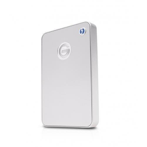 Hard disk extern External HDD G-DRIVE mobile Thunderbolt, 2.5'', 1TB, USB 3.0, silver