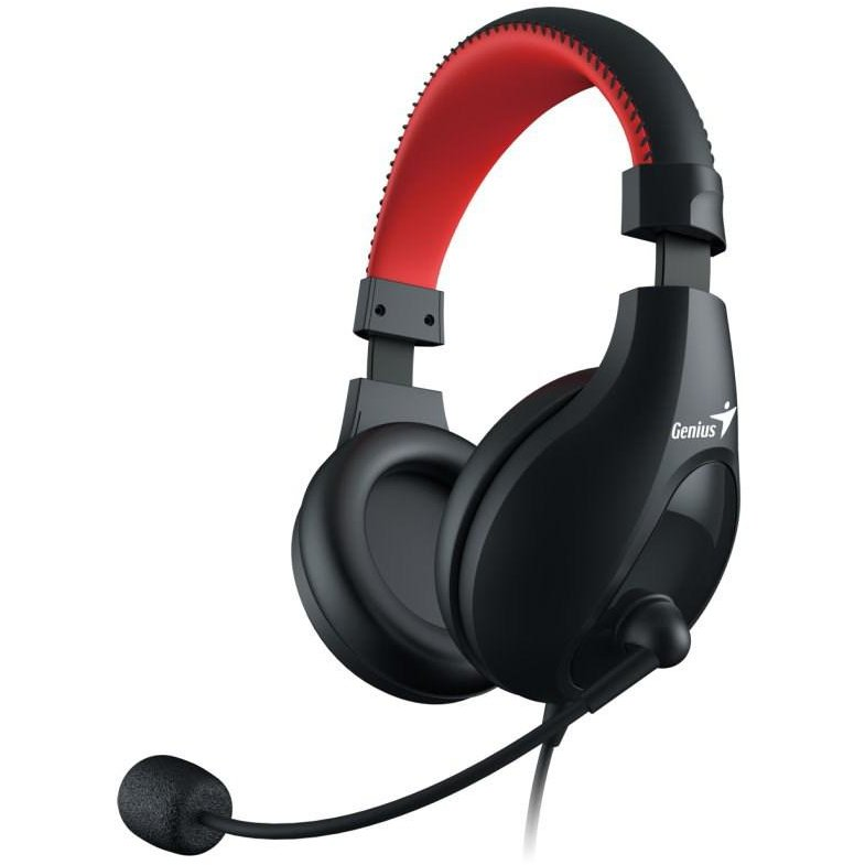 Casti HEADSET GENIUS HS-520 3.5 JACK BLACK