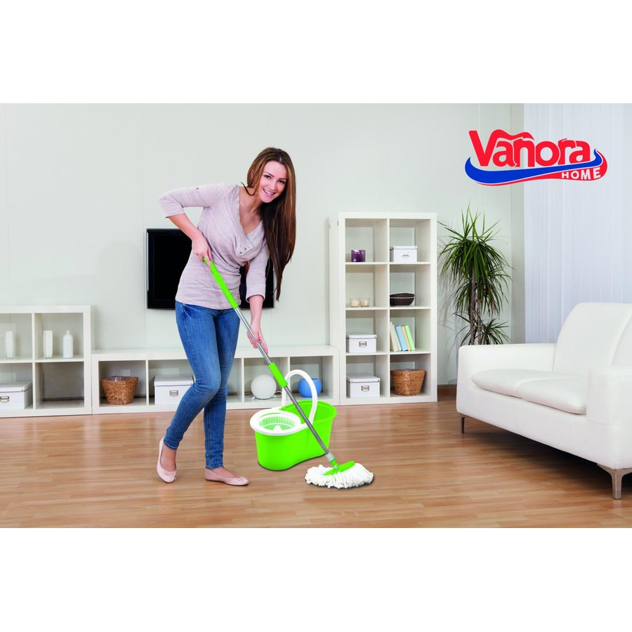SET CURATENIE PRIMO,MOP ROT. 360,VERDE
