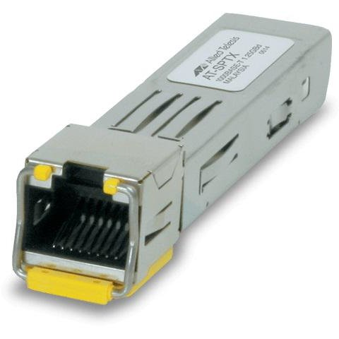 Modul Allied Telesis transceiver SFP 1 port RJ45 100m, hot-swap