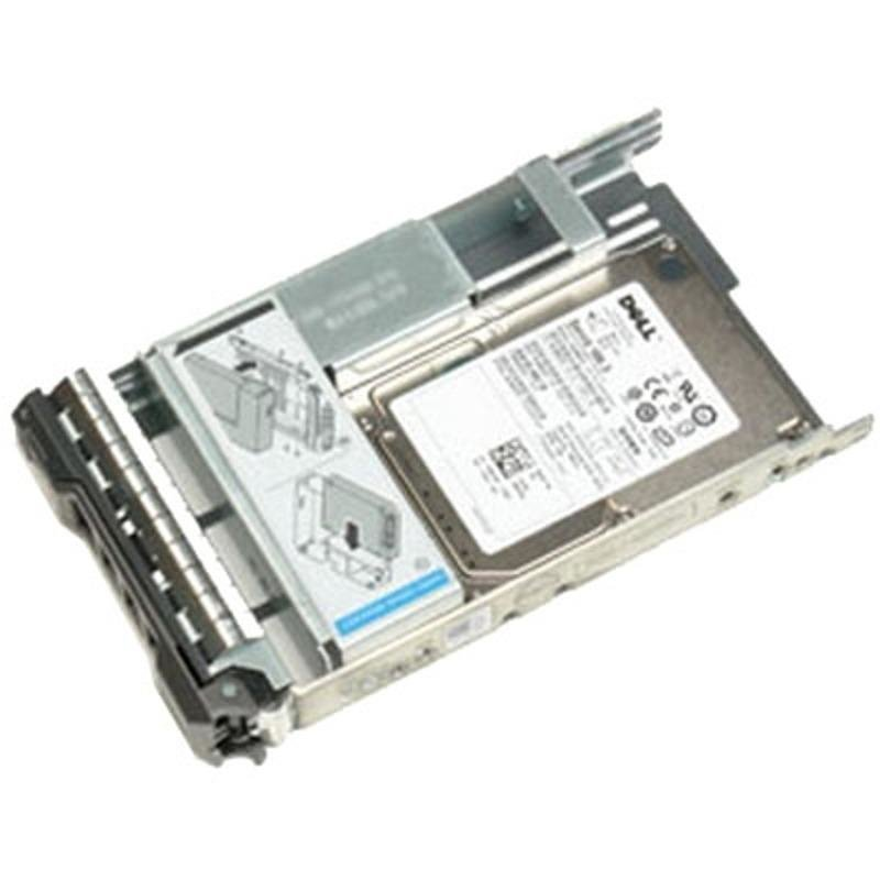 Dell 600GB 10K RPM SAS 2.5in Hot-plug Hard Drive3.5in HYB CARR, 13G, CusKit