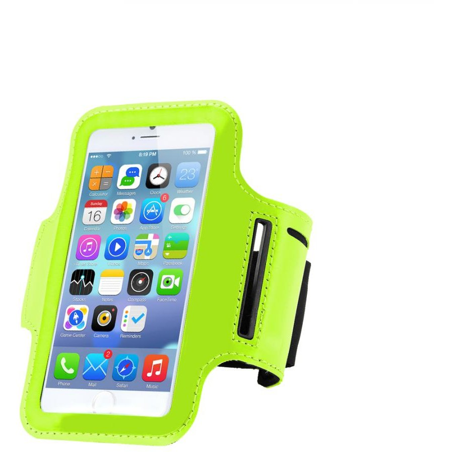 MOBILE PHONE ARMBAND SERIOUX LIME