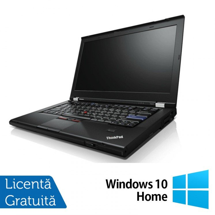 Laptop Refurbished Lenovo T420, Intel Core i5-2520M 2.50GHz, 8GB DDR3, 250GB SATA, DVD-RW + Windows 10 Home