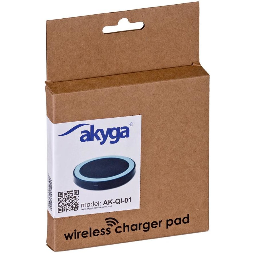Akyga Wireless Induction Charger QI AK-QI-01 5V max 1000mA