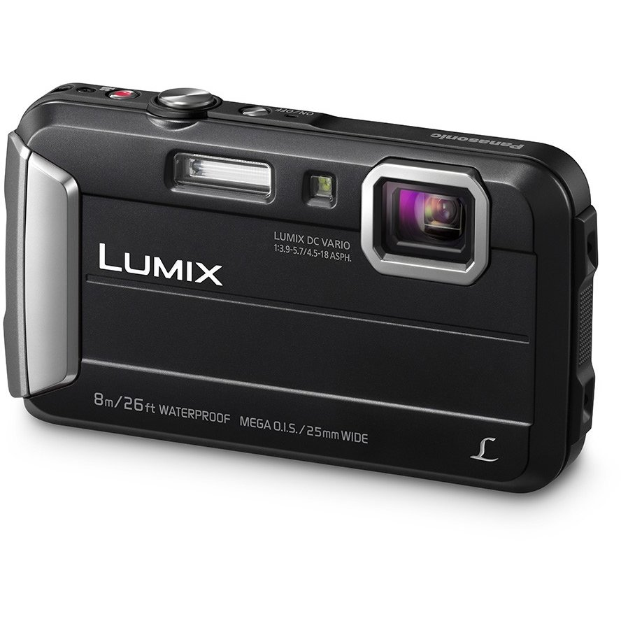 Aparat foto digital Lumix DMC-FT30 Waterproof Black
