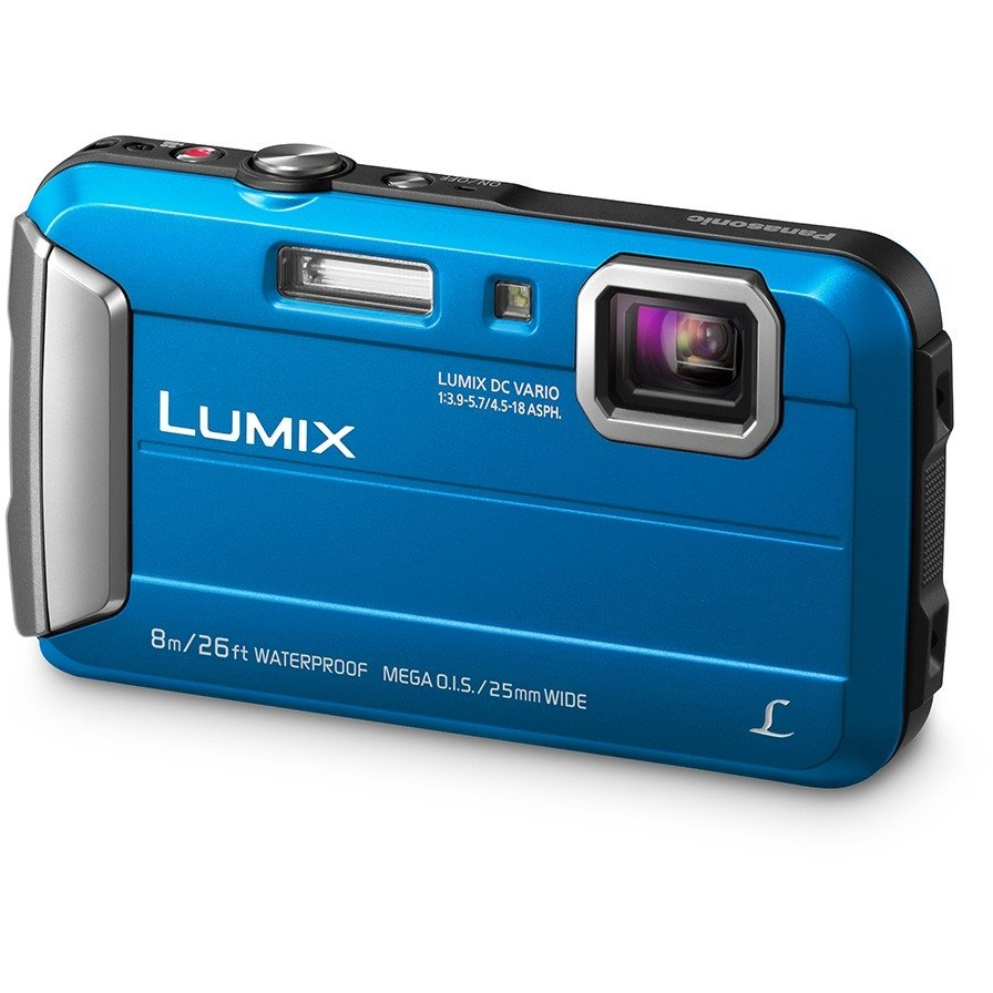 Aparat foto digital Lumix DMC-FT30 Waterproof Blue