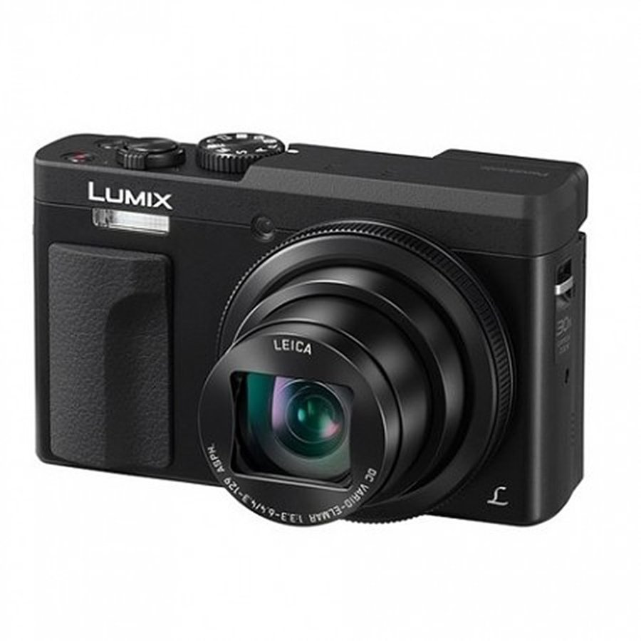 Aparat foto digital Lumix DC-TZ90 Compact 20.3MP QFHD 4K Wi-Fi Black