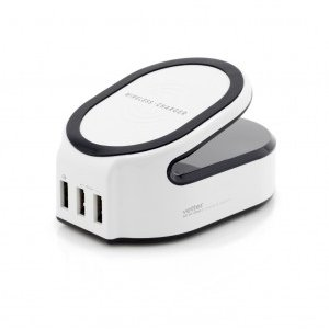Incarcator de retea All in One Charging Station   Wireless Charger with Smart and Quick Charge 3.0