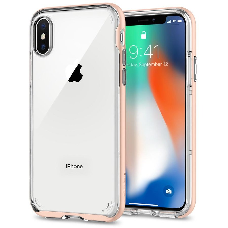 Neo Hybrid Crystal iPhone X blush gold