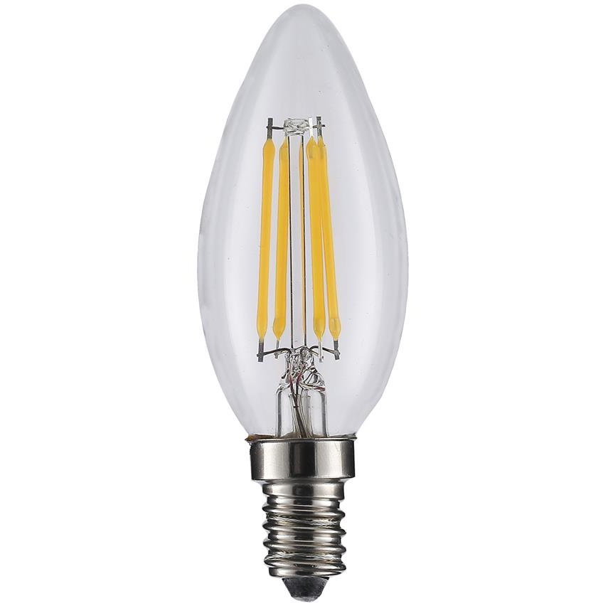 ART LED BULB COG filament, candle, lucent E14, 4W, AC230V,WW
