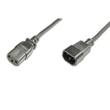ASSMANN Power Cord Extension cable IEC C14 M (plug)/IEC C13 F (jack) 1,2m black
