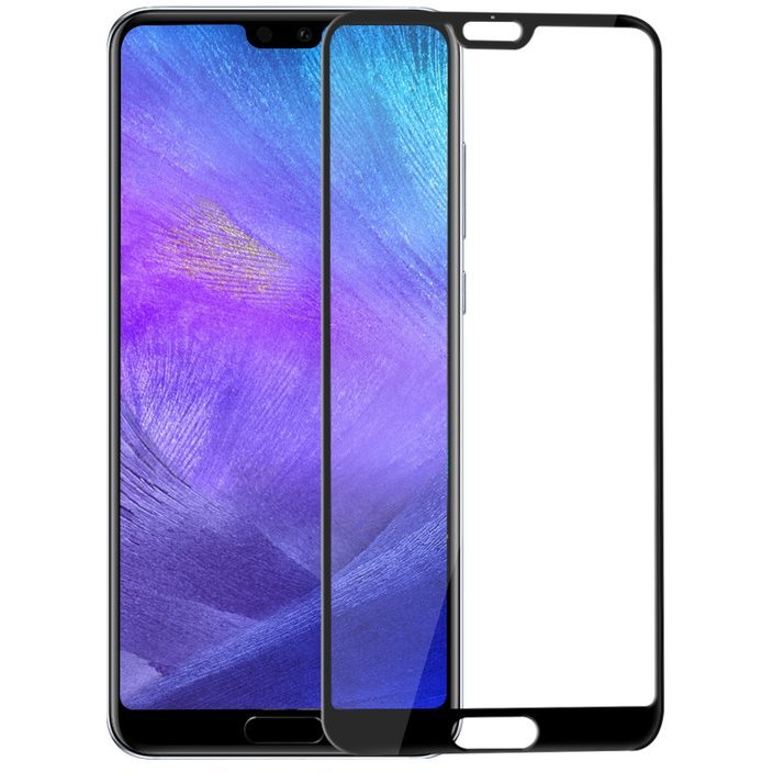 Folie sticla securizata premium full screen 3D Huawei P20 9H 0,33 mm Benks V-Pro NEGRU