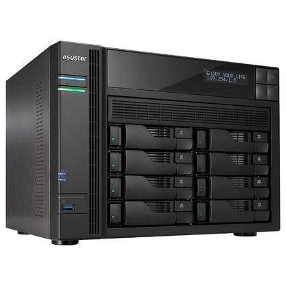 NAS Asustor AS7008T NAS - network attached storage tower, 8-bay
