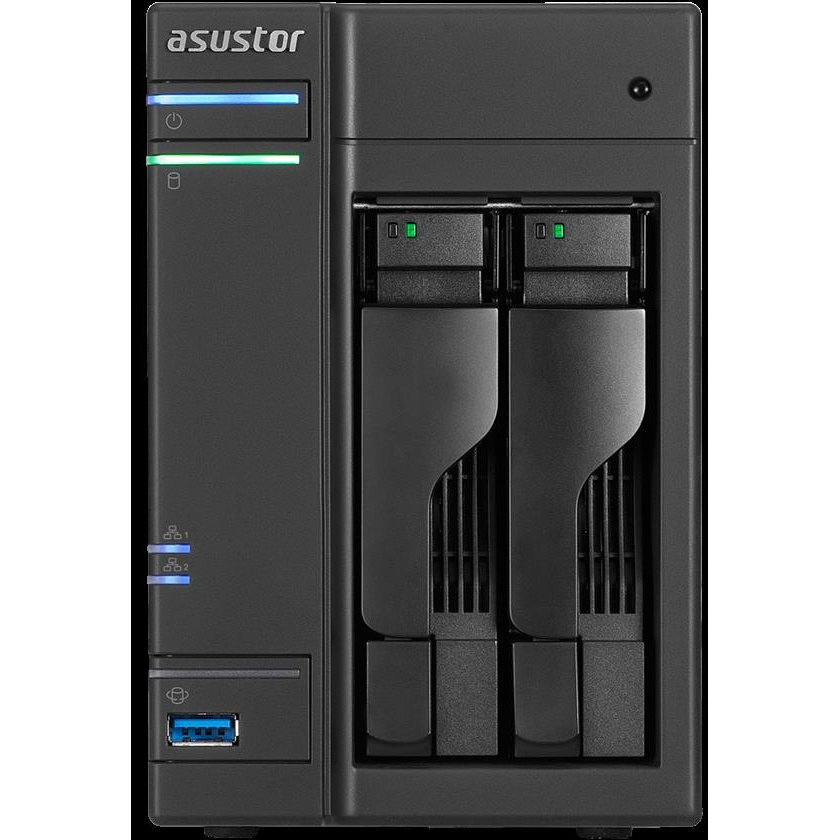 NAS Asustor AS6302T NAS - network attached storage tower, 2-bay