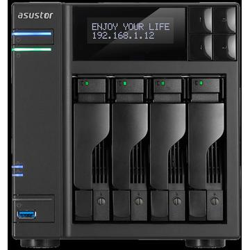 NAS Asustor AS6404T NAS - network attached storage tower, 4-bay