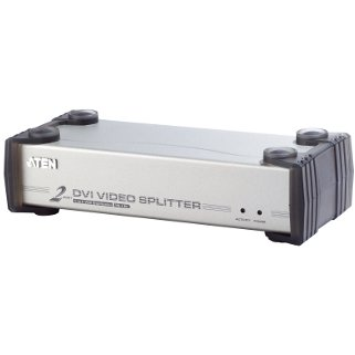 ATEN Video Spliter DVI + Audio 2 port