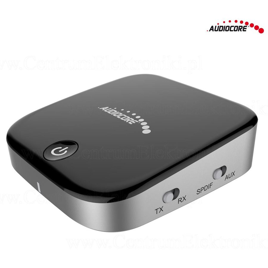 Audiocore AC830 Bluetooth Adapter 2-in-1 Transmitter Receiver - Chipset CSR BC86