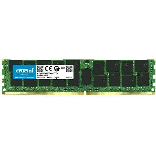 Crucial 64GB DDR4 2666 MT/s (PC4-21300) CL19 QR x4 Load Reduced DIMM 288pin