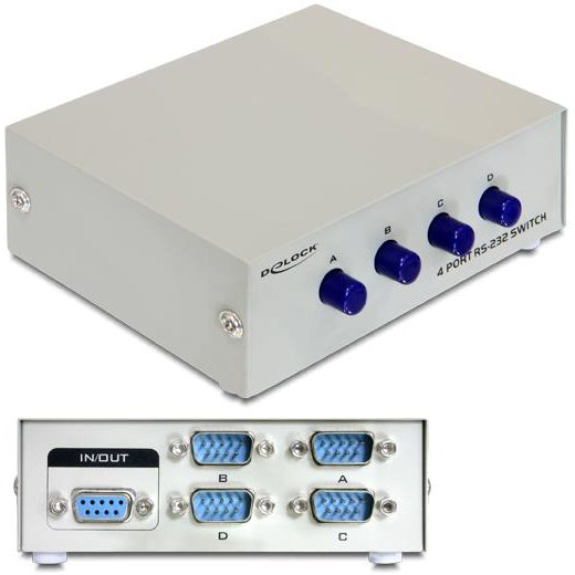 Delock Serial Switch RS-232 4-port manual
