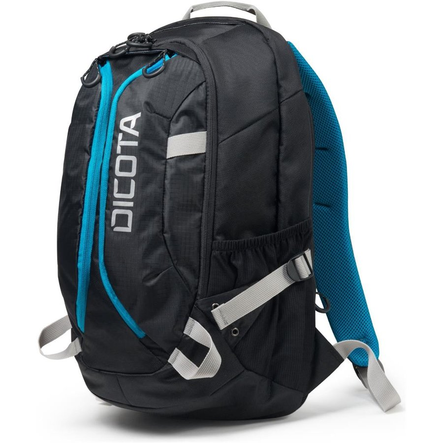 Dicota Backpack Active 14-15,6 black blue