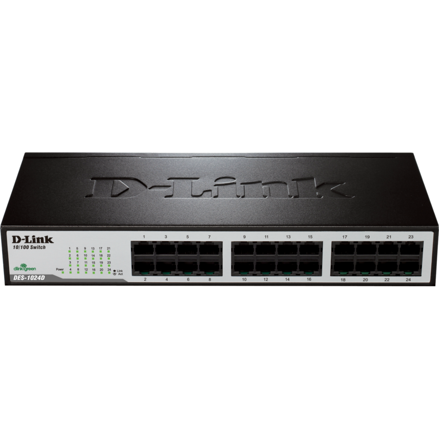 Switch D-Link Switch Express EtherNetwork Desktop 24x10/100
