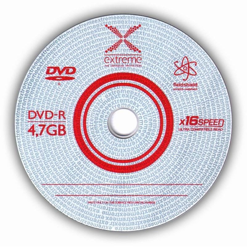 DVD-R Extreme [ spindle 100 | 4.7GB | 16x ]