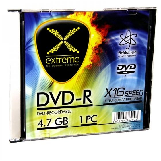 DVD-R Extreme [ slim jewel case 1 | 4.7GB | 16x ] - carton 200pcs