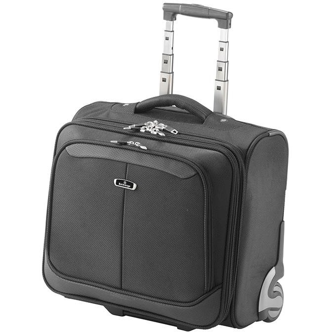Falcon Mobile Laptop / Tablet Business Trolley Case 16'' Black