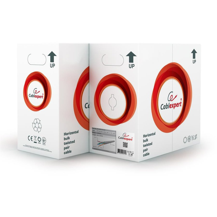 Gembird UTP solid cable, cat. 5e, 305m (outdoor)