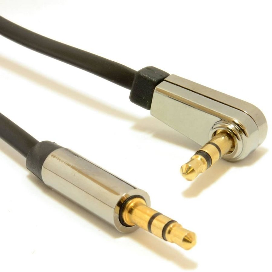 Gembird Unghi drept, 3,5 mm, cablu audio stereo, 1.8m