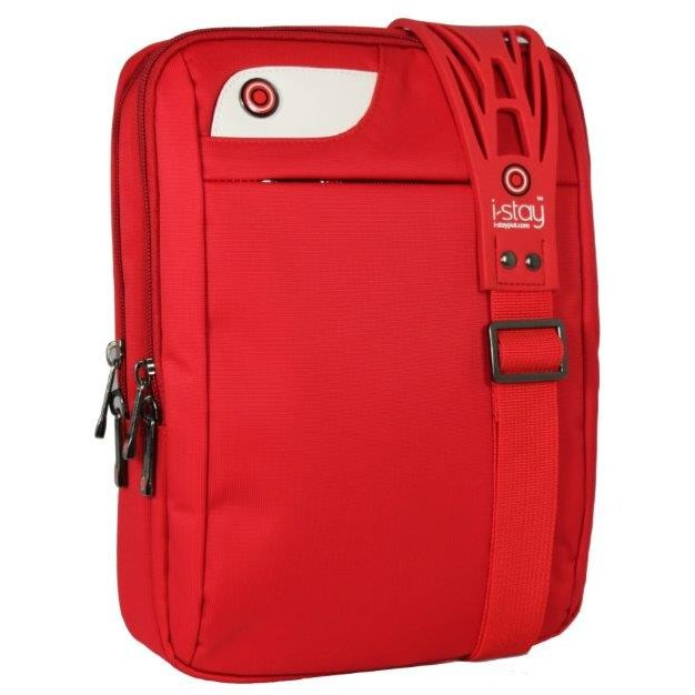 Geanta laptop/I-pad 10.1, polyester, I-stay Launch - rosu