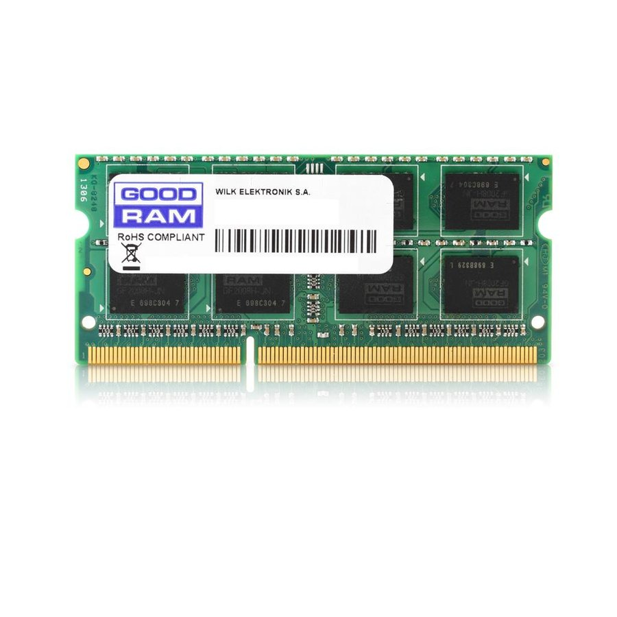 Memorie laptop GOODRAM DDR3 4GB 1333MHz CL9 SODIMM 1.5V (512x8)