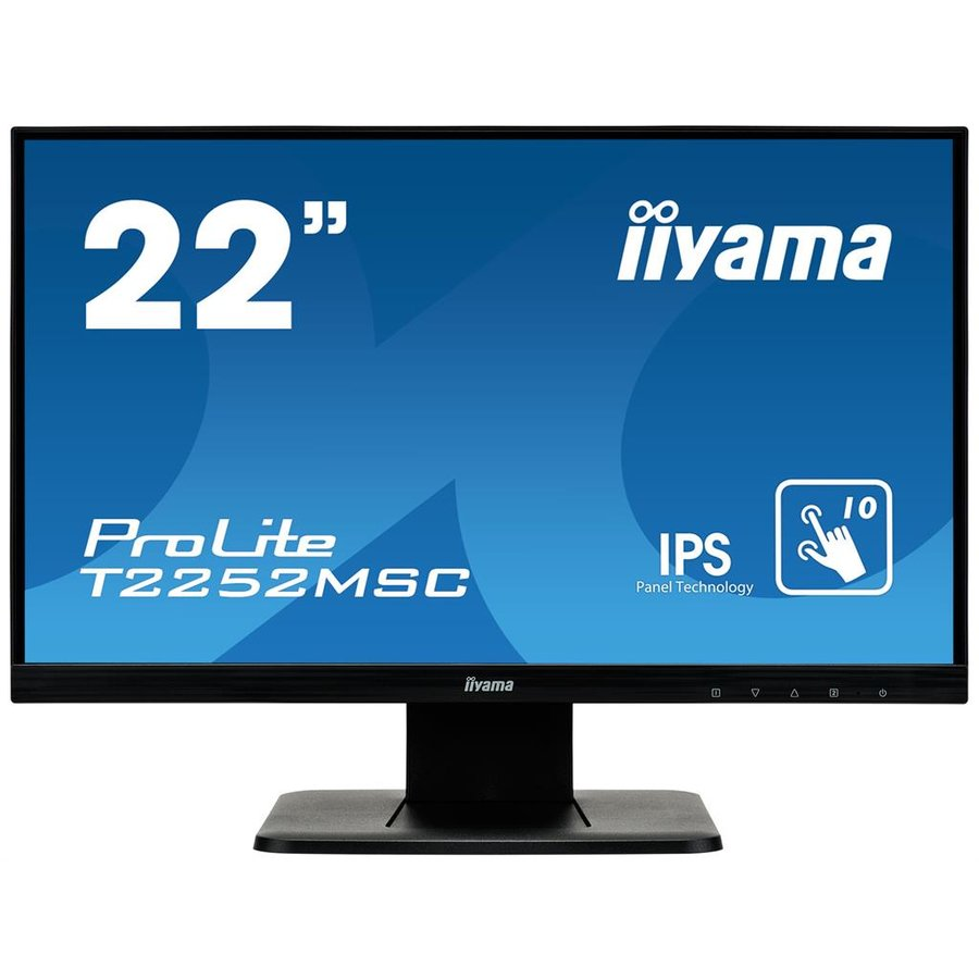 Monitor LED T2252MSC-B1 22 FHD Touch IPS 16:9 7ms Black