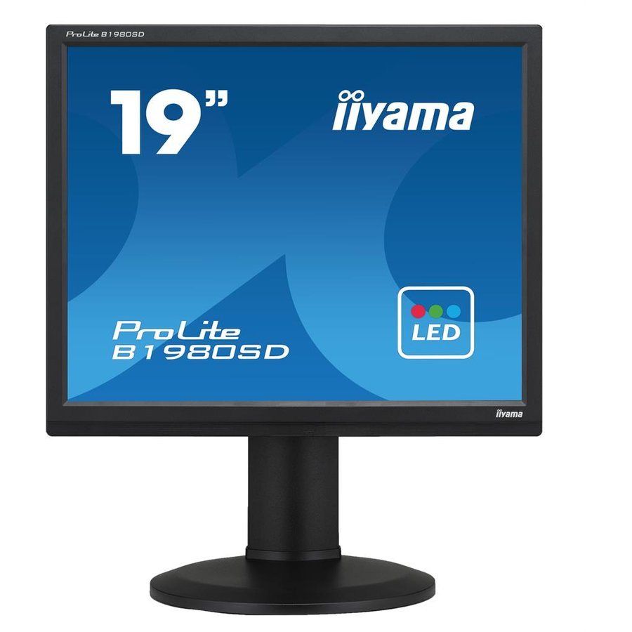 Monitor LED B1980SD-B1 A 19 TN 5:4 5ms Black