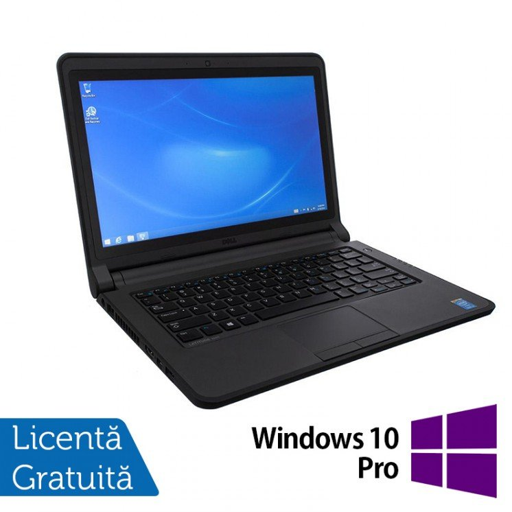 Laptop Refurbished DELL Latitude 3340, Intel Core i3-4010U 1.70GHz, 4GB DDR3, 500GB SATA, 13.3 inch + Windows 10 Pro