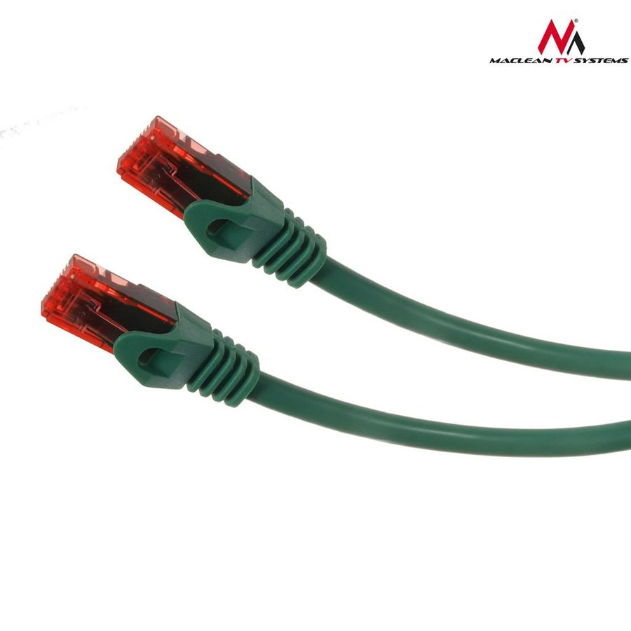 Maclean MCTV-300G Patchcord UTP cat6 Cable plug-plug 0,5m green