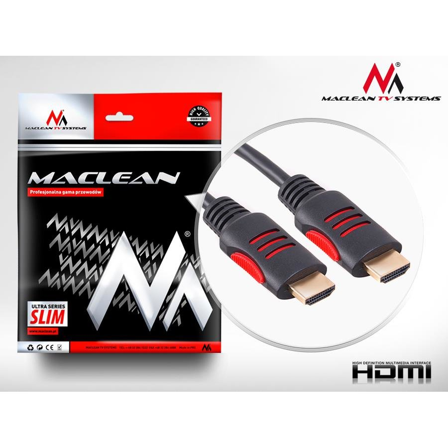 Maclean MCTV-812 HDMI to HDMI Cable v. 1.4