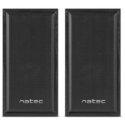 Natec Panther computer speakers 2.0 6W RMS, Black