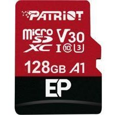 Card memorie Patriot EP Series 128GB MICRO SDXC V30, up to 100MB/s