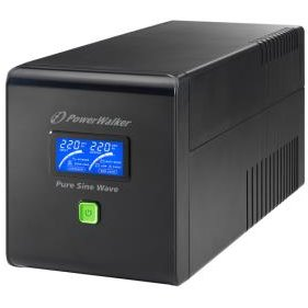 UPS Power Walker Line-Interactive 1000VA 4x IEC C13,PURE SINE, RJ11/RJ45,USB,LCD